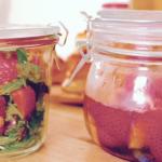 とても簡単なフルーツサラダ&ブランデー作り