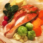 【焼くだけレシピ】北欧風サーモンのオーブン焼き