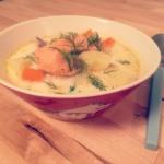 ■【簡単20分!】フィンランドのサーモンスープ「Lohikeitto(ロヒケイット)」の作り方
