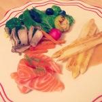 【北欧ダイエット:6日目】サーモンと野菜のソテー